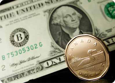 Forex dolar Kanada vs dolar AS
